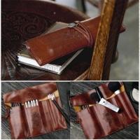 Винтажная сумка для макияжа и канцелярии