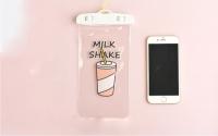 Водонепроницаемый чехол для телефона Milk Shake
