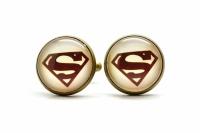 Запонки Superman retro