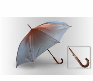 Зонт Антишторм трость красный