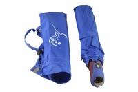 Зонт  меняющий цвет синий