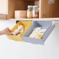 Подвесной скрытый ящик для хранения канцелярии и кухонных принадлежностей под столом