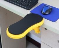 Подлокотник на компьютерный стол (желтый)
