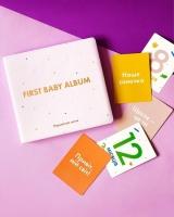 Детский фотоальбом для девочки новорожденных (розовый)