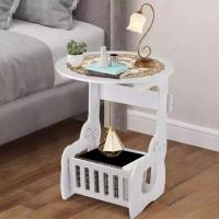 Журнальный столик, круглый прикроватный столик Kitty