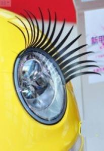 Реснички для вашего авто: гибкие, крепятся на разные формы фар