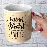 Фото Кружка Гигант Мама сердце семьи