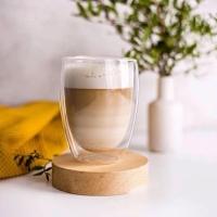 Стакан для латте, кофе с двойным дном 250 мл