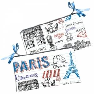 Косметичка кошелек Paris Lamour