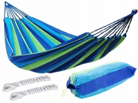 Гамак хлопковый Mexico 100х200см (зелено-синий)