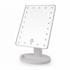 Настольное зеркало с LED подсветкой Large LED Mirror (белый)