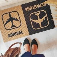 Дверний килимок Arrival Departure