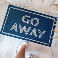 Дверний килимок Go away