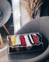 Органайзер для обуви на 6 пар (Серый)