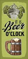 Открывалка бутылок на стену It is beer oclock