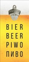 Фото Открывалка бутылок на стену Bier Beer Piwo Пиво