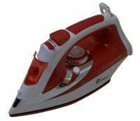 Утюг с керамической подошвой 2200W (красный)