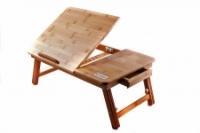 Фото Бамбуковый столик для ноутбука Кейлі