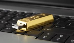 USB-флешка Золотой слиток 32 Гб.