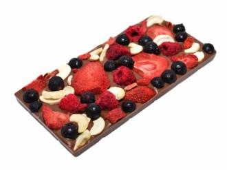 Бельгийский шоколад с фруктами 104 г.