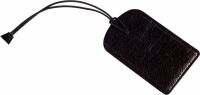 Бирка для багажа Air черная