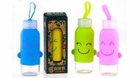 Бутылка с ушками SMILE 4 вида