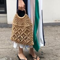 Сумка авоська плетенная Diana (Бежевый)