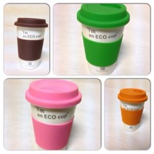 Чашка Coro Eco непроливайка 390 мл