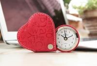 Cердечко будильник Heart Red