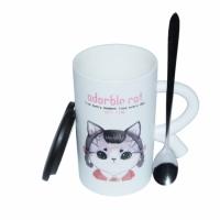 Чашка Кот герой Девочка