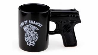 Чашка пистолет Череп 4 вида