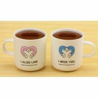 Чашки магниты любви, 2 шт