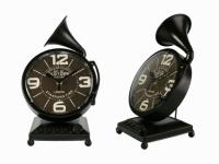 Часы Граммофон Антиквариат Black