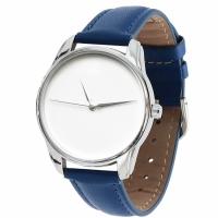 Часы наручные Минимализм синий
