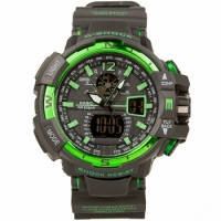 Часы Сasio G-Shock Black Green реплика