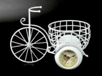 Часы Вело Колеса с Корзиной