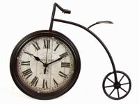 Часы Вело Пенни-Фартинг Пье Медные