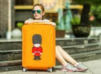 Чехол на чемодан Yellow