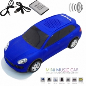 Колонка - Машинка Porsche Cayenne (колонка, плеер mp3, радио)