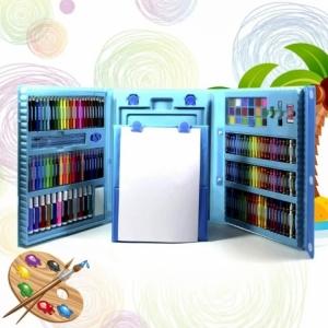 Детский художественный набор в чемодане 208 предметов