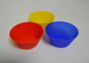 Силиконовая форма Кексики маленькие рифл. (5шт)