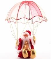 Фото Дед Мороз на воздушном шаре