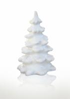 Декор глянцевый Новогодняя елка 28 см