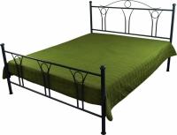 Декоративное покрывало зеленое 150х215 см
