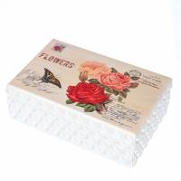 Деревянная шкатулка Почтовые розы