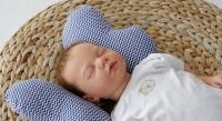 Фото Детская подушка для новорожденных Butterfly Зигзаг