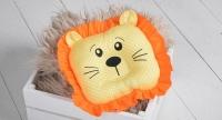 Детская подушка игрушка для новорожденных Leo