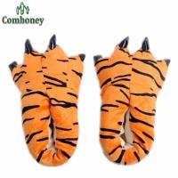 Домашние тапочки Лапы Тигровые