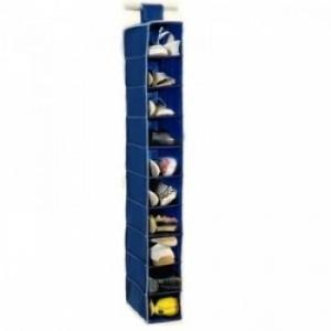 Подвесной органайзер для обуви на 10 секций