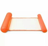 Водный надувной матрас-гамак сетка 108х60 см (Оранжевый)